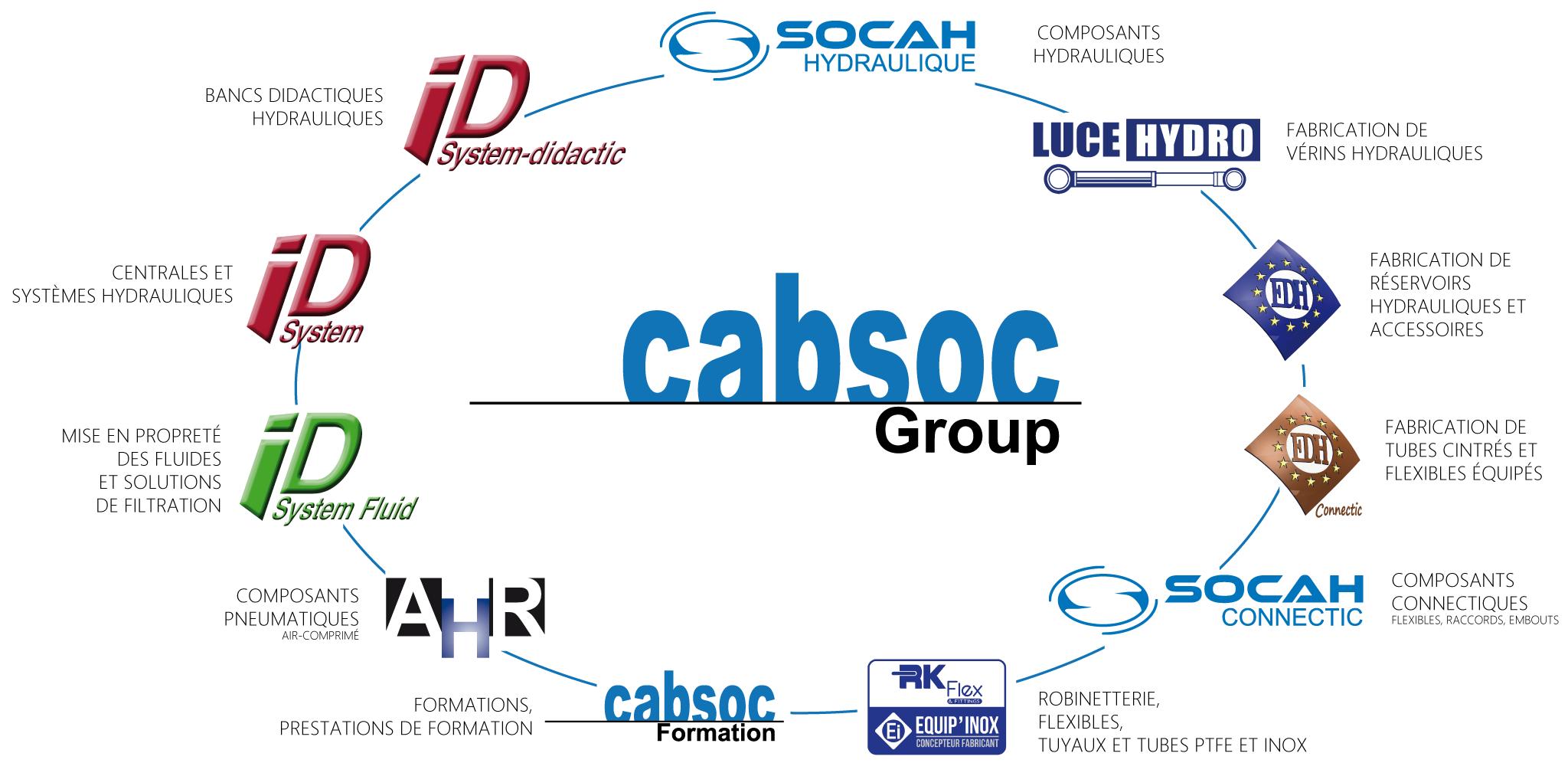 Logos et activités du groupe Cabsoc